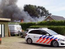 Grote brand in bedrijfspand Halle: sein brand meester