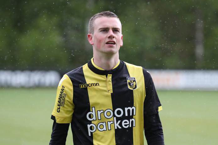 Joris Klein-Holte maakte zaterdag zijn rentree bij Jong Vitesse.