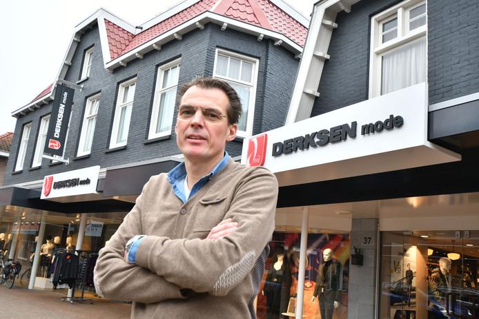 Thomas ter Beke, eigenaar van Derksen Mode in Tubbergen.