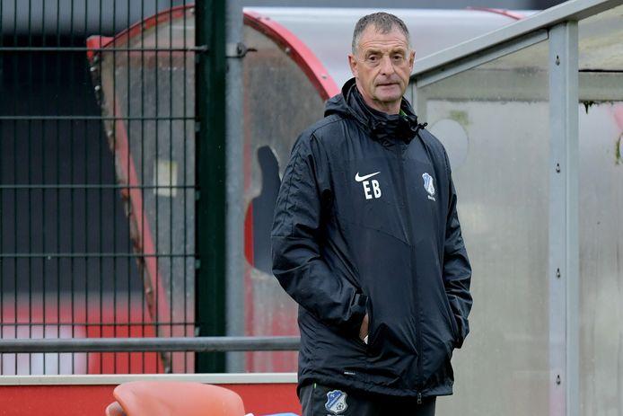 FC Eindhoven-trainer Ernie Brandts.