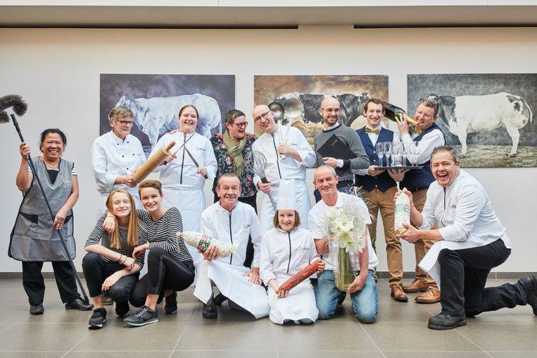 De medewerkers van De Vossenberg maken zich op voor een feestjaar