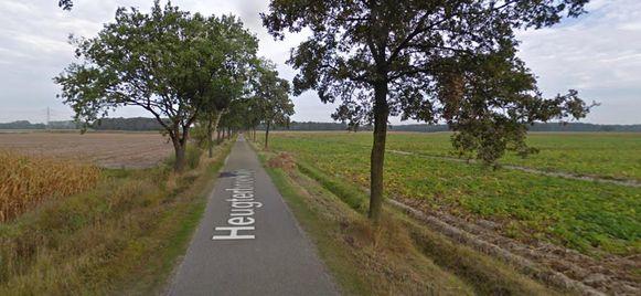 Het ongeval vond plaats op de Heugterbroekdijk