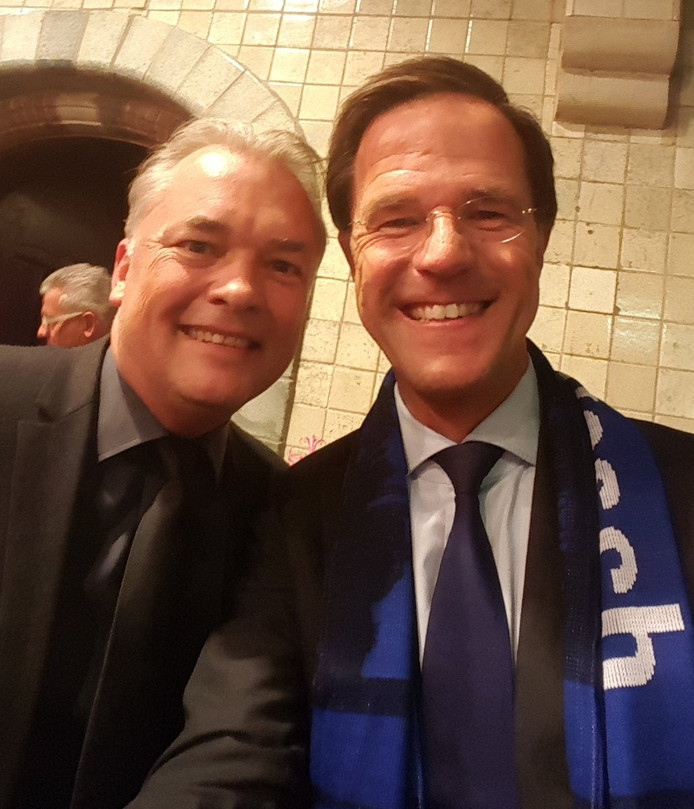 De foto die FC Den Bosch-directeur Edward van Wonderen op twitter plaatste.