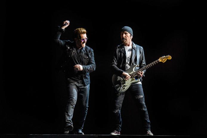 Bono en The Edge van U2.