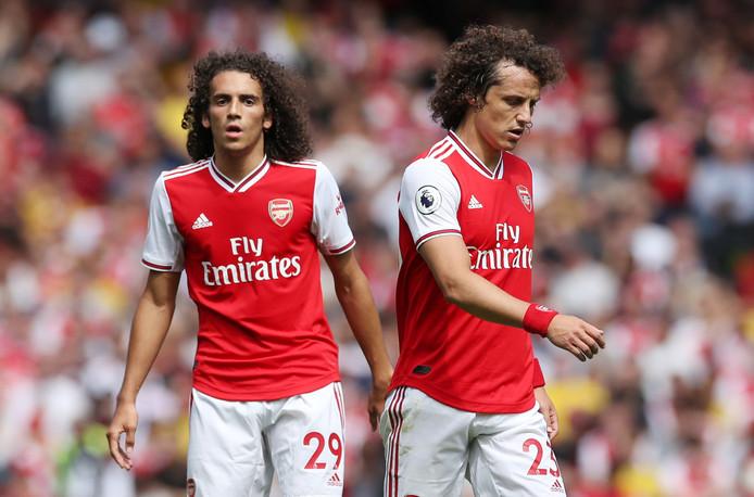 Matteo Guendouzi en David Luiz.