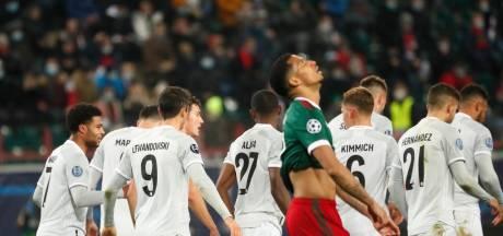 Bayern München komt met de schrik vrij in Moskou, opnieuw puntendeling Inter
