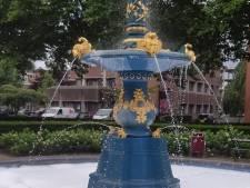 'Grapjas' zet fontein op het Beverwijcksplein in de sop