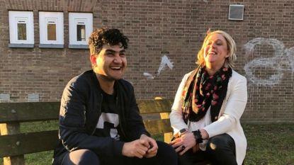 Hilde Vautmans wordt buddy van Afghaanse Jawad (16)