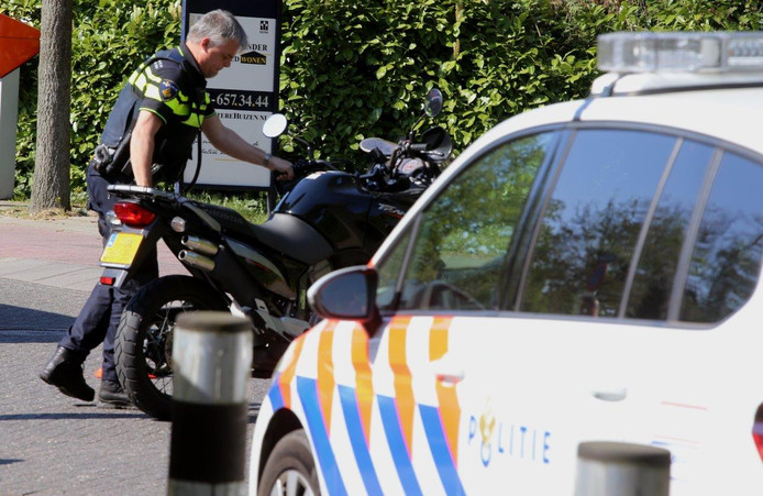 Ongeval in Vught.