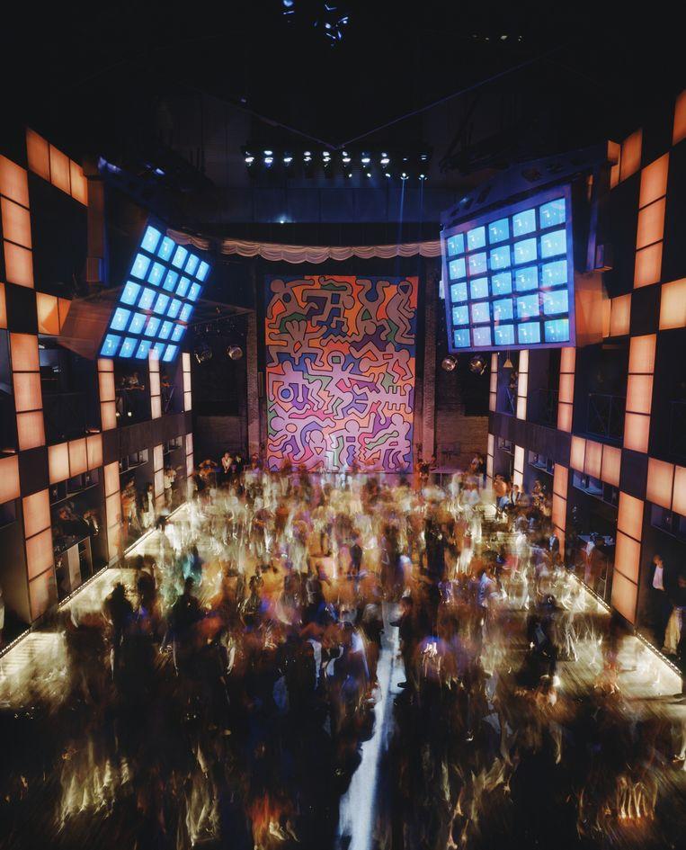 Club Palladium, New York in 1985. Beeld null