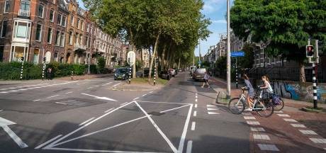 Bewoners Apeldoornseweg willen niet parkeren tegen middenberm