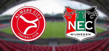 NEC zoekt de winst tegen ongeslagen thuisploeg Almere City FC