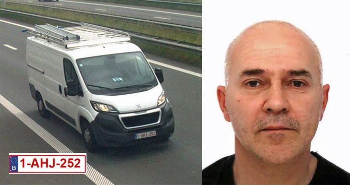 De witte bestelwagen van de 56-jarige loodgieter werd het laatst gezien door snelwegcamera's