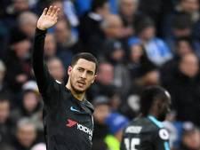 Bekijk hier hoe Hazard Chelsea langs Brighton loodst