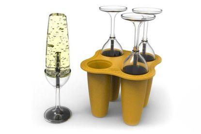 Ideaal voor deze warme dagen: champagne-ijsjes!