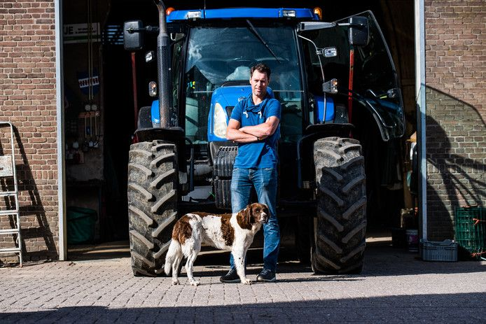 ALS-patiënt Bram Emmerzaal wil zo snel mogelijk op zijn tractor klimmen.