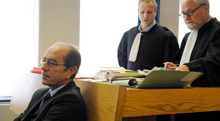 Meester Coveliers (rechts) is verheugd met de uitspraak.