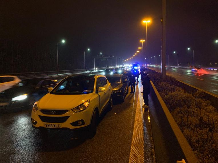 Ongeval E40 Loppem
