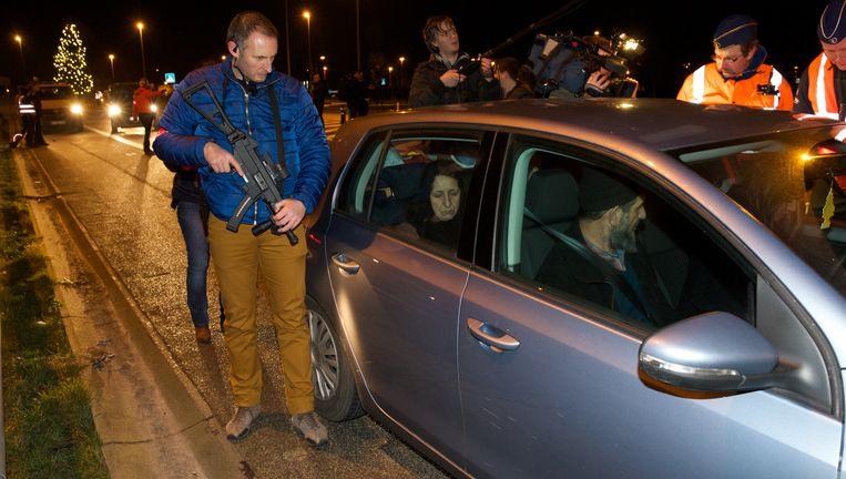 Een politieactie om mensenhandelaars op te sporen in West-Vlaanderen.