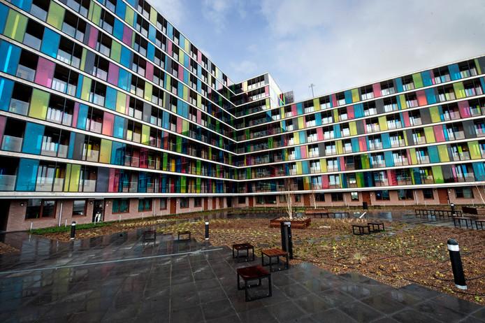 Studentencomplex Talia in het centrum van Nijmegen.