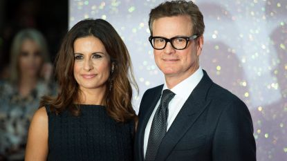 """Huwelijk Colin Firth en Livia Giuggioli is gered"""