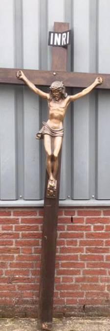 Gevonden Christusbeeld Dongen komt van begraafplaats Hoogerheide