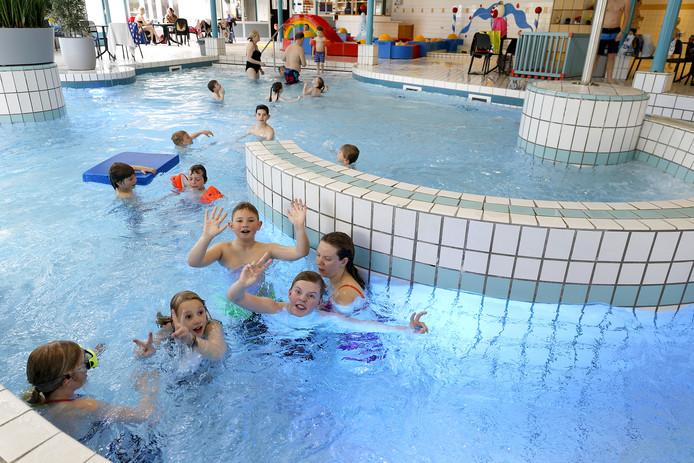 De zwemlessen van Aqua Health hebben plaats in De Molen Hey in Schijndel.