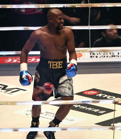 Mayweather stapt in Tokio weer de ring in