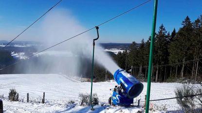 Primeur voor Hoge Venen: skipiste Ovifat vanaf woensdag open dankzij sneeuwkanonnen