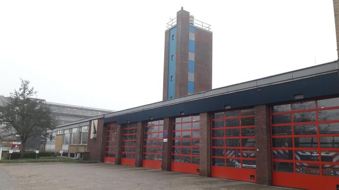 De brandweerkazerne van Veenendaal.