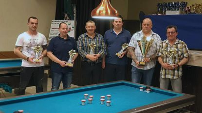 Biljartclub Sportief Herent pakt unieke dubbel
