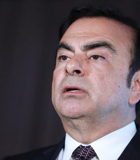 Voormalig Nissan-baas Ghosn krijgt nieuwe aanklacht aan de broek