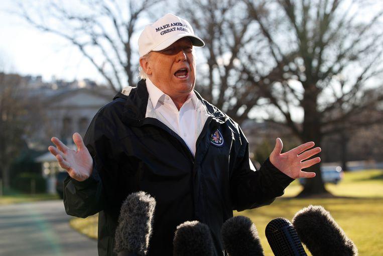 Trump reist vandaag naar de Amerikaanse grens in het Texaanse grensdorpje McAllen om zijn pleidoor voor een muur kracht bij te zetten.