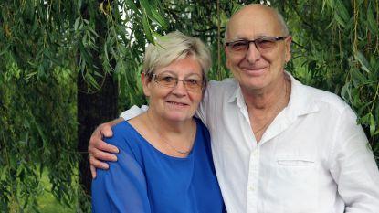 Mia en Herman vieren hun vijftigste huwelijksverjaardag