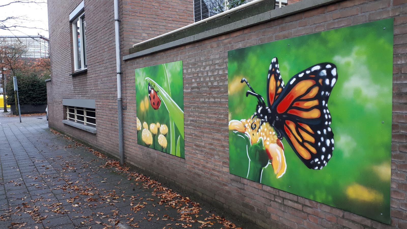 De eerste graffitikunst op de Cityflat