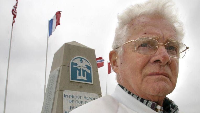 Don Malarkey, hier op een foto uit 2005, is op 96-jarige leeftijd overleden.