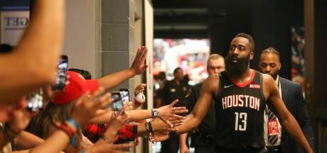 Er staat geen maat op James Harden in NBA