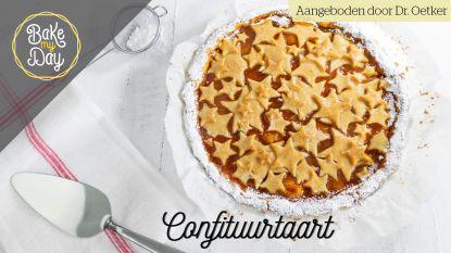 Recept van de dag: een lekkere confituurtaart