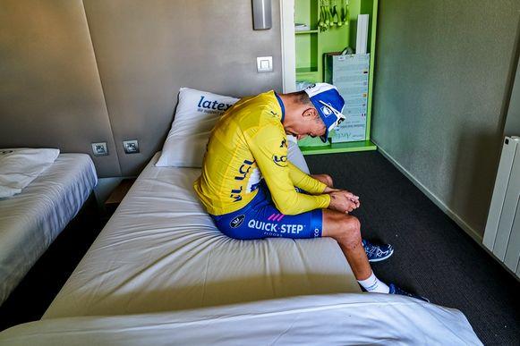 In de rit naar Epernay - de derde etappe - greep Julian Alaphilippe de macht in de Tour de France. Hij pakte het geel na een straffe solo en zou die trui uiteindelijk 14 dagen dragen.