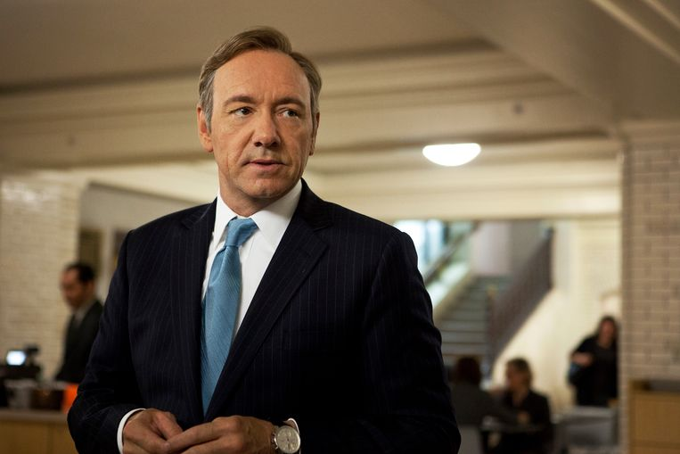 Kevin Spacey als U.S. Congressman Frank Underwood in 'House of Cards'.