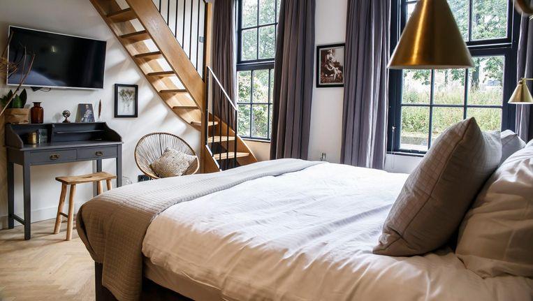 'Je vindt hier het comfort van een luxe hotel' Beeld Carly Wollaert