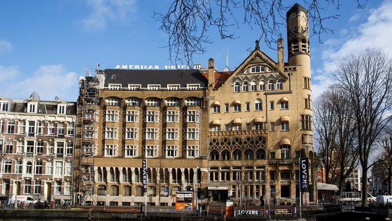 In het American Hotel, nu nog van Hampshire, worden 100 van de 170 kamers verbouwd Beeld Carly Wollaert