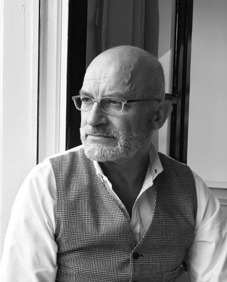 Dries van Ingen is uitgever, inwoner van Amsterdam en werkzaam aan de Prinsengracht. Beeld Eigen foto