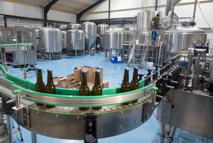 De brouwerij draait wel door.