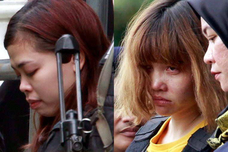 Siti Aisyah (links) en Doan Thi Huong.