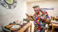 Papa Chico goochelt tijdens ontbijt in nieuwe B&B