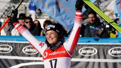 Siebenhofer mag in WB-afdaling van Cortina d'Ampezzo eerste keer vieren, Vonn wordt 15de