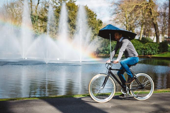 Magnifiek Aju paraplu voor Bredase fietsuitvinding | Breda | bndestem.nl #KX11