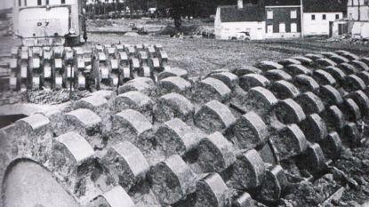 De antitankmuur in Halse velden