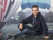 Held van eigen jongensdroom: Martijn is jongste ballonvaarder van Nederland